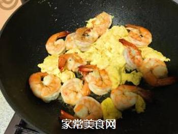 韭黄虾的做法步骤:10