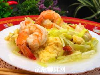韭黄虾的做法步骤:13