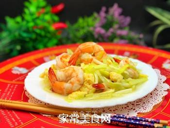 韭黄虾的做法
