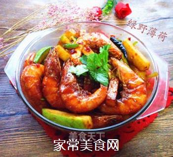 花样美食――香辣虾的做法步骤:12
