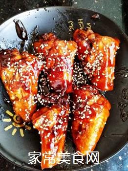 红烧鸡翅的做法步骤:8