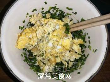 韭菜鸡蛋馅饺子的做法步骤:8