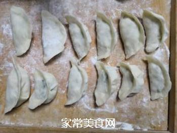 韭菜鸡蛋馅饺子的做法步骤:11