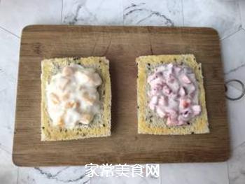 草莓芒果三明治的做法步骤:4