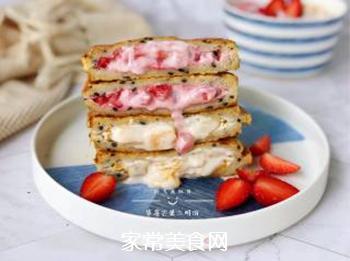 草莓芒果三明治的做法步骤:15