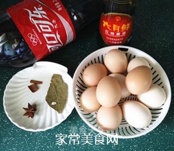 可乐鸡蛋的做法步骤:1