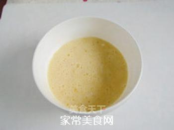方便快捷―米饭鸡蛋饼的做法步骤:4