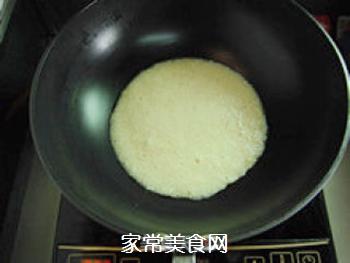 方便快捷―米饭鸡蛋饼的做法步骤:5