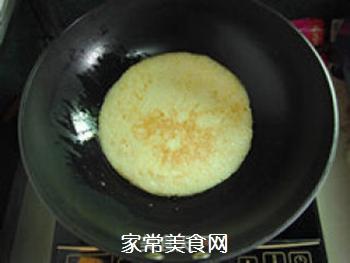 方便快捷―米饭鸡蛋饼的做法步骤:6