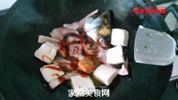 酸菜豆腐鱼的做法步骤:4