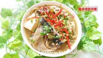 酸菜豆腐鱼的做法步骤:6