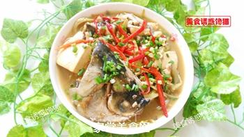 酸菜豆腐鱼的做法