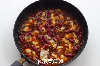 【仔姜麻辣水煮鱼】的做法步骤:14
