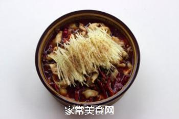 【仔姜麻辣水煮鱼】的做法步骤:15