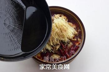 【仔姜麻辣水煮鱼】的做法步骤:16