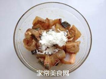 辣子鱼块的做法步骤:5