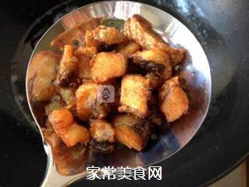 辣子鱼块的做法步骤:8