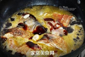 浓油赤酱-红烧鱼的做法步骤:6