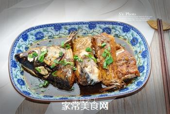 浓油赤酱-红烧鱼的做法