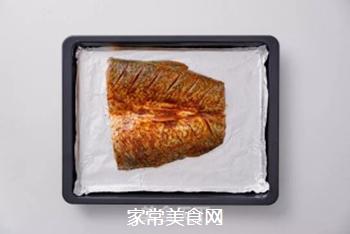 孜然烤鱼的做法步骤:4