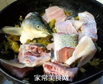 #润燥好汤水#酸菜鱼片汤的做法步骤:12