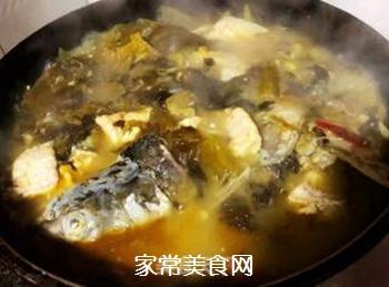 #润燥好汤水#酸菜鱼片汤的做法步骤:14
