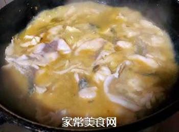 #润燥好汤水#酸菜鱼片汤的做法步骤:17