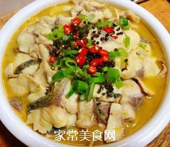 #润燥好汤水#酸菜鱼片汤的做法步骤:18