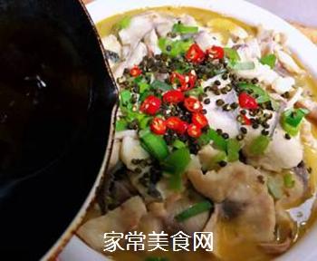 #润燥好汤水#酸菜鱼片汤的做法步骤:19