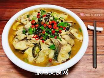#润燥好汤水#酸菜鱼片汤的做法步骤:20