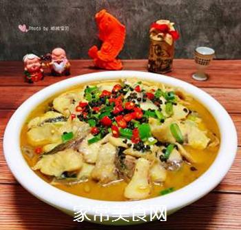 #润燥好汤水#酸菜鱼片汤的做法步骤:21