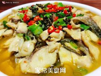 #润燥好汤水#酸菜鱼片汤的做法步骤:24