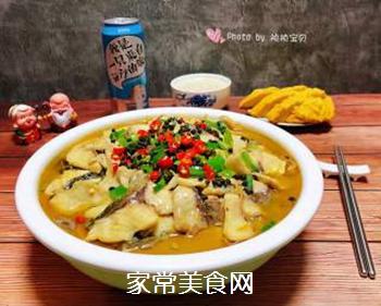 #润燥好汤水#酸菜鱼片汤的做法步骤:25