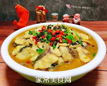 #润燥好汤水#酸菜鱼片汤的做法
