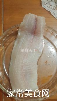 花开富贵牡丹鱼片的做法步骤:2