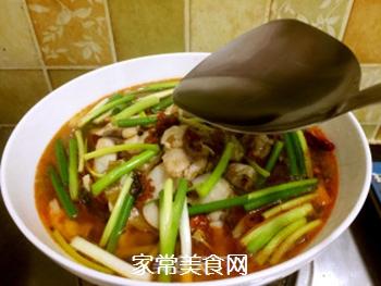 酸菜鱼的做法步骤:14