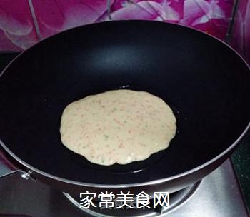 香葱胡萝卜鸡蛋饼的做法步骤:5