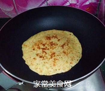 香葱胡萝卜鸡蛋饼的做法步骤:8