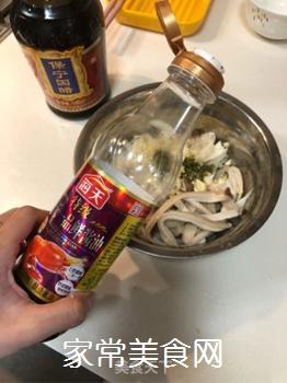 凉拌杏鲍菇的做法步骤:7