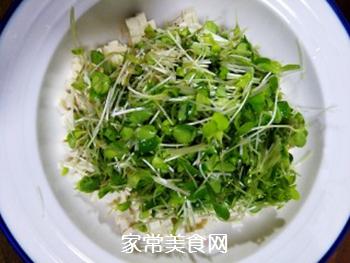 香椿苗拌豆腐的做法步骤:5