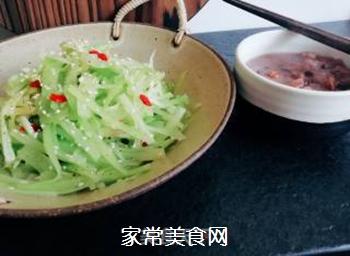 莴笋~春季美食的做法步骤:4