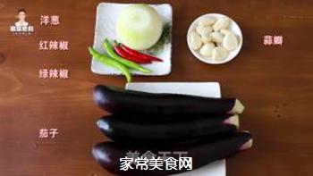 韩式酱腌茄子的做法步骤:1