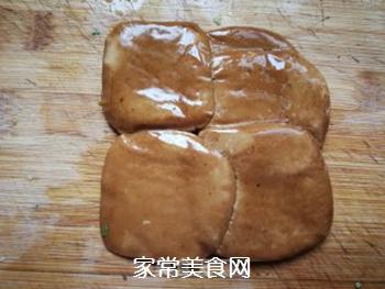 香椿拌香干的做法步骤:3