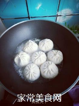 蒜薹煎包的做法步骤:6