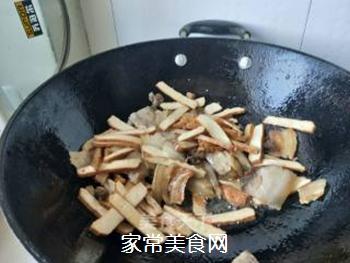 【川菜】香干回锅肉的做法步骤:8