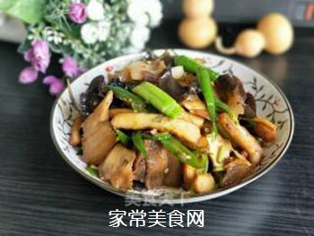 【川菜】香干回锅肉的做法步骤:16