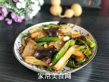 【川菜】香干回锅肉的做法