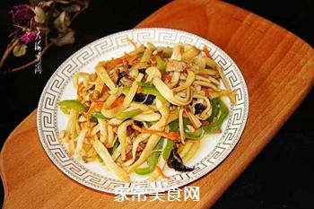 小炒海鲜菇#晚餐#的做法