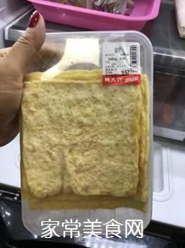 猪肉蒜苗炒油片的做法步骤:1