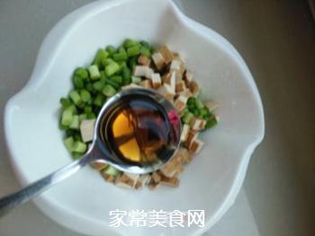 老干妈蒜薹拌香干的做法步骤:6